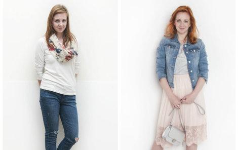 Paní Lucie před a po proměně