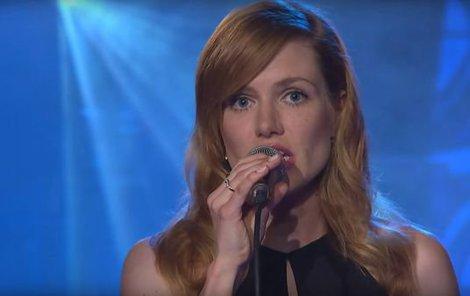 Gábina nedávno zpívala v show Jana Krause.