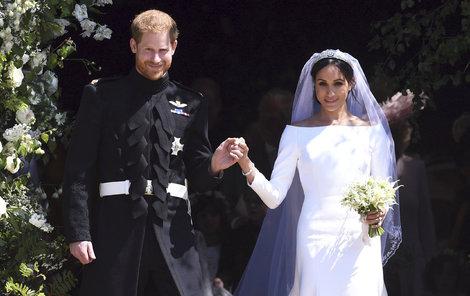 Na Hradě Windsor si své »ano« řekli Harry (33) a Meghan (36)