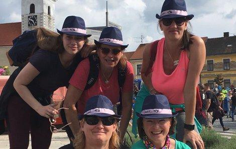 Již tradičně do Prčice doputovaly i dámy z Jelenců na Příbramsku.