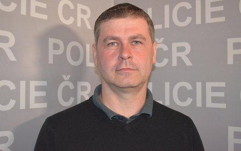 Kriminalista Radim Bouchner.