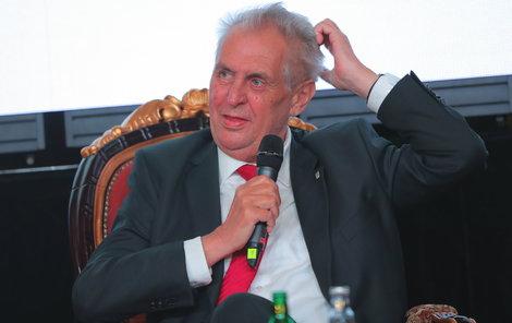 Miloš Zeman navštívil Žofínské fórum. Letošním tématem byla občanská zodpovědnost (23.5 2018)