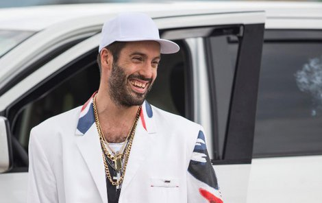 Václav Noid Bárta jako rapper