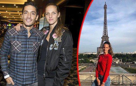 Eiffelovku mají milenci jenom pro sebe.