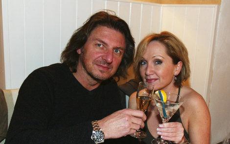 Bára Basiková s Jaromírem Pizingerem