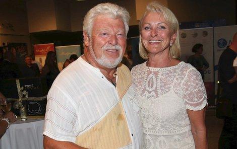 Milan Drobný s manželkou Danou