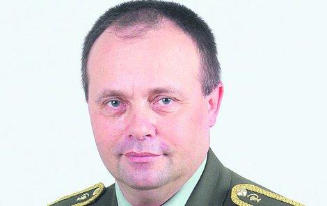Brigádní generál Zoltán Bubeník.