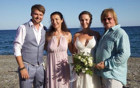 Svatba Josefa Vágnera: Nevěsta, ženich a jeho rodiče