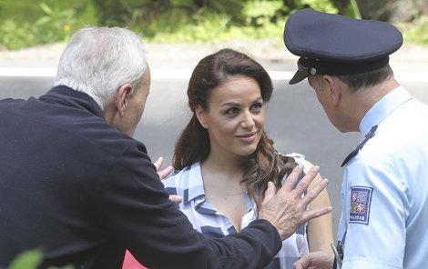 Slovenská herečka po prvním dni dokonale zapadla do seriálové rodiny.