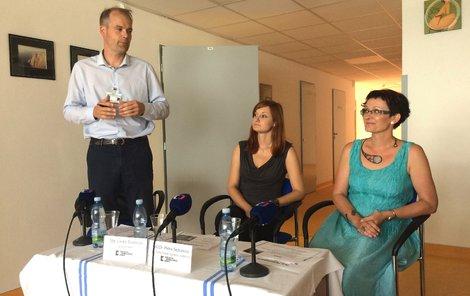 Primářka Petra Sejbalová (vpravo).