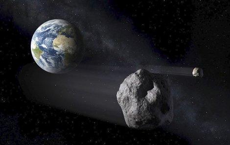 Tak nějak mohl podle NASA asteroid vypadat.