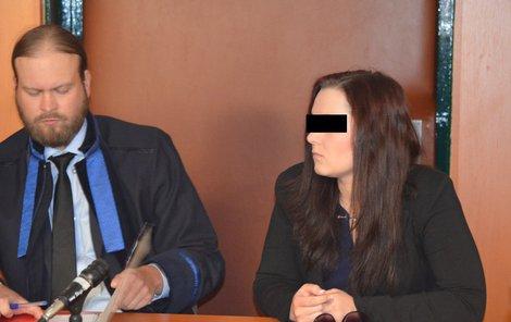 Rozsudek si Simona P. vyslechla bez mrknutí oka.