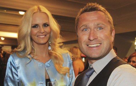 Lucie Hadašová s manželem
