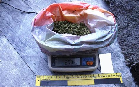 Za rok prodala síť dealerů přes 120 kg marihuany.