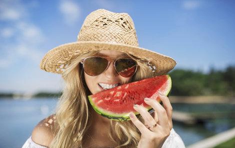 Meloun zlepšuje nejen náladu, ale také třeba zlepšuje zdraví očí.