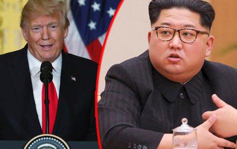 Donald Trump,  Kim Čong-un
