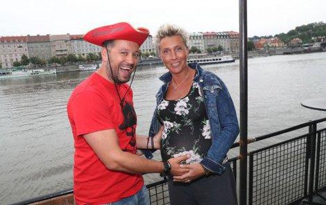 Michal a Zuzana čekají první společné miminko.