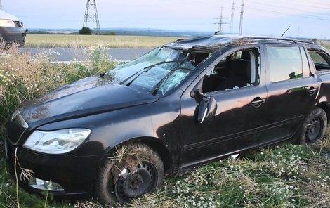 Řidičem byl pravděpodobně čtrnáctiletý kluk!