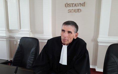 Soudce Ludvík David.