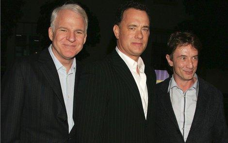 Zleva: Steve Martin Tom Hanks  Martin Short