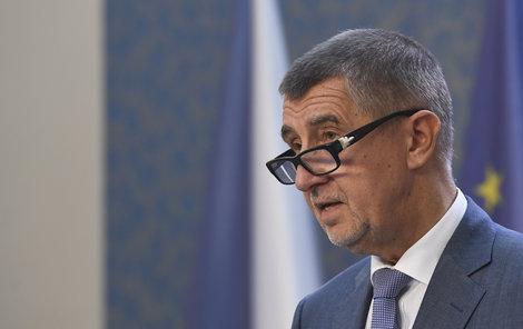 Andrej Babiš při tiskovce, na které oznámil jména nominantů ANO na ministry (22.6.2018)