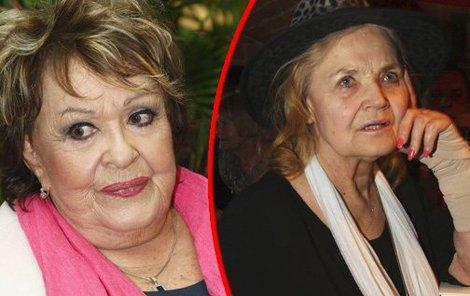 S Gabrielou Vránovou hrála Jiřina Bohdalová 37 let na jednom jevišti