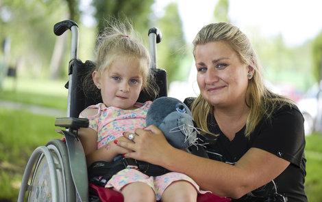 Dcera Věry (35) z Hodic Eliška trpí mozkovou obrnou!