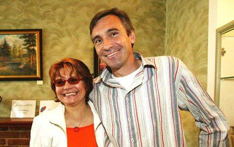 Jan Čenský a Ivana Andrlová