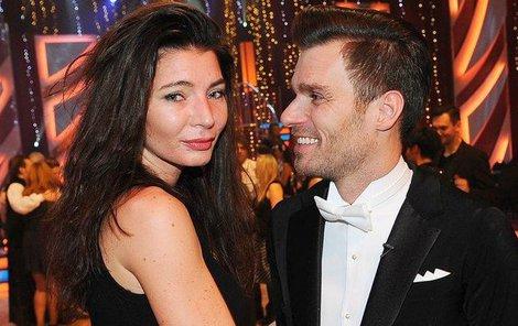 Monika Marešová s manželem Leošem.