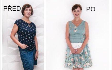 PROMĚNA ČTENÁŘKY: Dana (62) z Klecan se našla v širokých kalhotách!