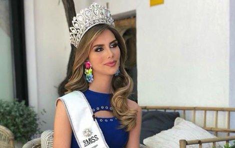 Španělsko bude reprezentovat na Miss Universe.
