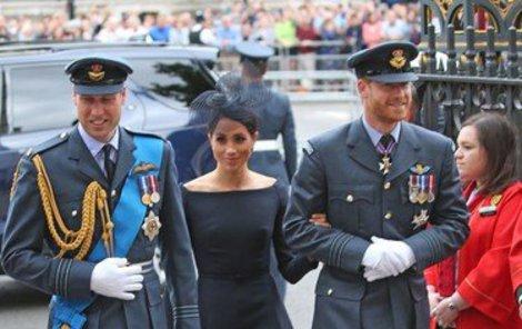 Princ William se za svého bratra Harry a Meghan musel přimluvit.