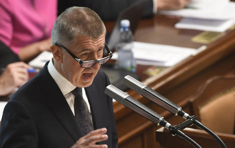 Babišova druhá vláda požádala 11.7.2018 o důvěru poslance