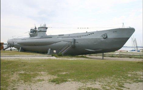 Chlouba německého námořnictva U 966 Gut Holz