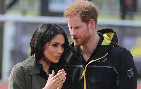 Meghan Markle a princ Harry.