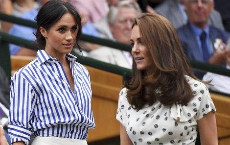 Meghan a Kate si spolu na tenis zřejmě vyrazily naposled.