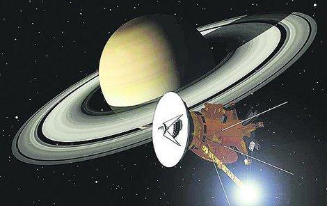 Snímky pořídila sonda Cassiny, která kolem Saturnu a jeho měsíců kroužila 13 let.