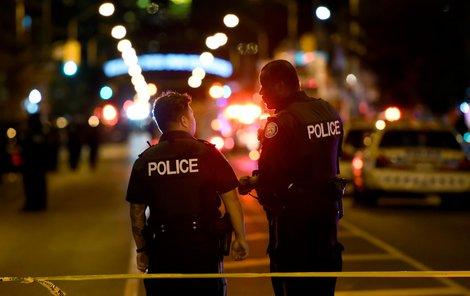 Při střelbě v Torontu byl zraněn větší počet lidí