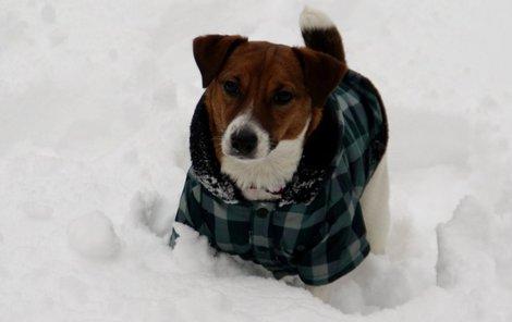 Zimní model, který zahřeje i na horách v závějích sněhu a třeskutém mrazu.