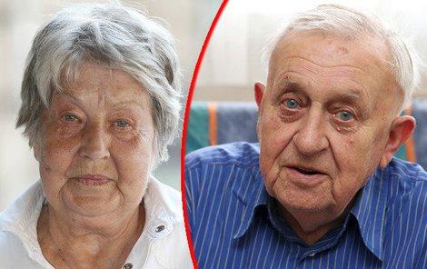 Princezna se zlatou hvězdou Marie Kyselková (82) ztratila svého životního ochránce.