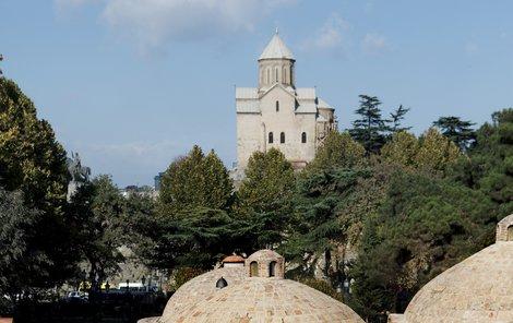 Tbilisi - starobylé lázně