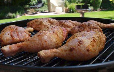 kuřecí stehna