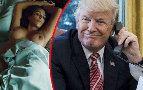Donald Trum, Kim Kardashian