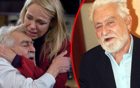Ve věku 88 let zemřel herec Ilja Racek.