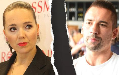 Lucie Vondráčková a Tomáš Plekanec se rozešli.