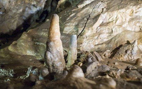 Jeskyně - krápníky
