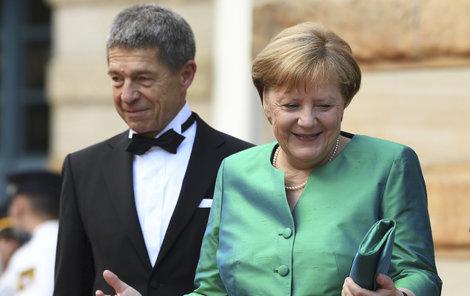 Naposledy byla paní a pan Merkel společně spatřeni minulý týden.