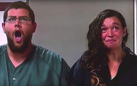 Manželé Seth Welch (27) a Tatiana Fusari (27)