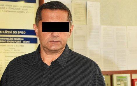 Zástupce šéfa krajské zásahovky policie, major Vladimír S.