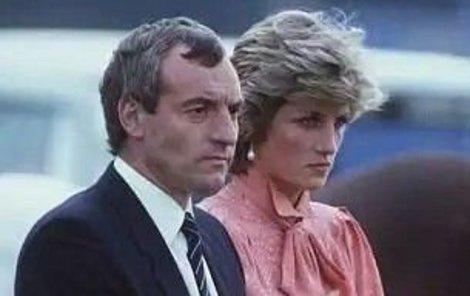 Princezna Diana a Barry Mannakee